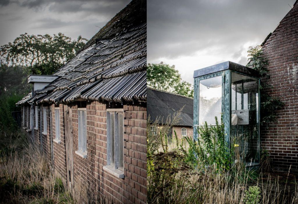 De oude telefooncel in Varsen
