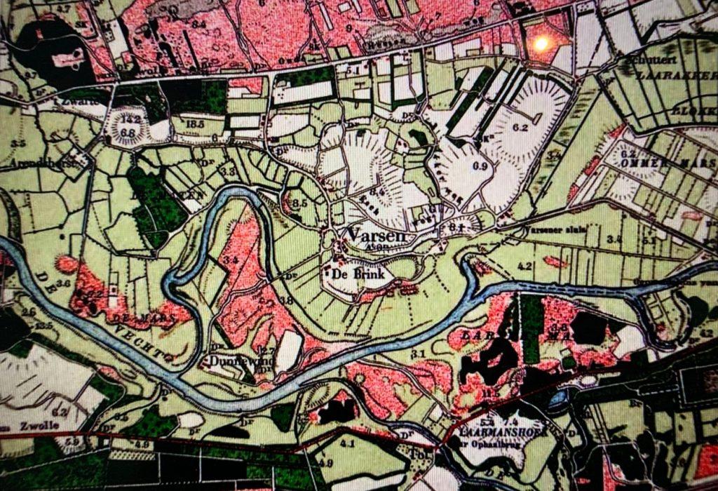 historische kaart
